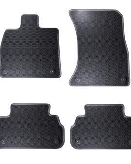 Dywaniki gumowe czarne Geyer – Hosaja Audi Q5 FY (2017 – X)